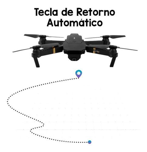 drone plegable rc s168 wifi cámara 2mp angulo amplio fpv graba en tiempo real desde tu celular