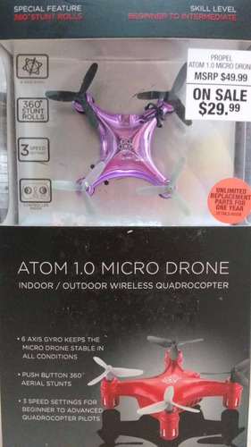 drone propel atom 1.0 micro