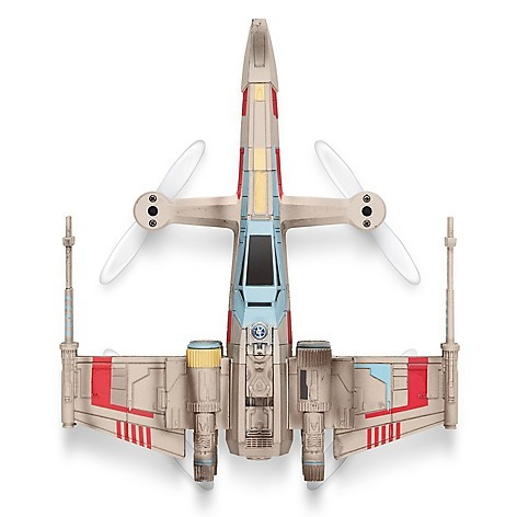 drone propel star wars t-65 x-wing star fighter quadcopter