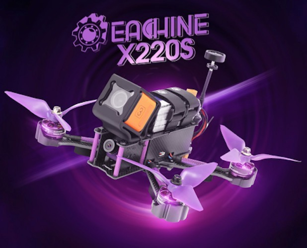 Resultado de imagen de Eachine Wizard X220S V2 FPV Omnibus F4 RTF