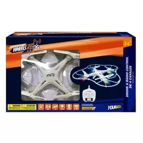 drone radio control remoto 4ch 2.4ghz luz grande