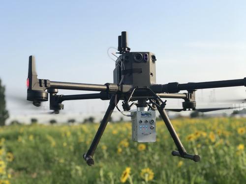 drone relevamiento lidar  liair v 70 + fotogrametría