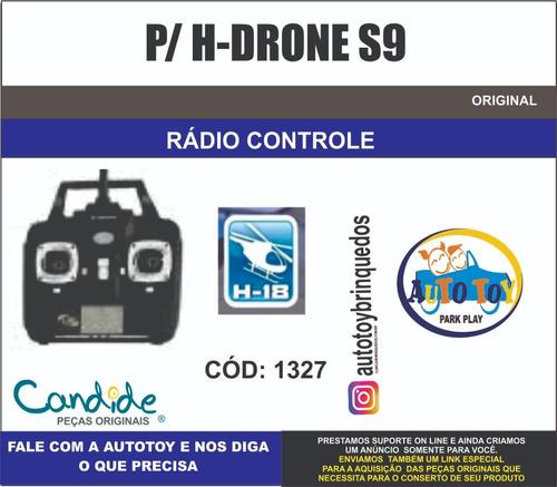 drone s9 1327 - h-18  - candide - controle remoto