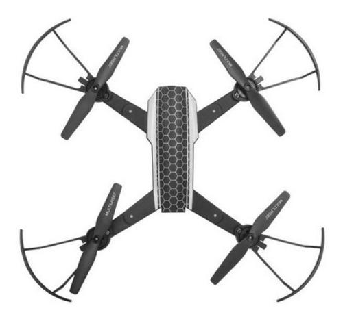 drone shark câmera hd fpv,wi-fi alcance 80mt c/nf multilaser