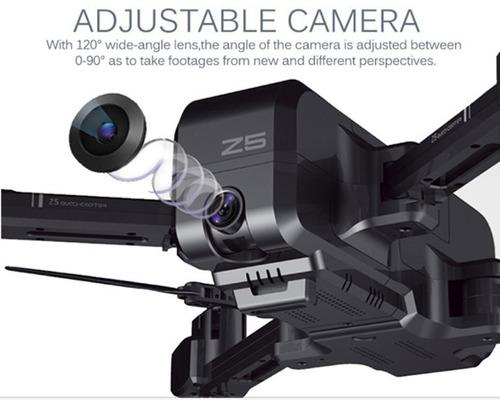 drone sjrc z5 gps siga-me camera hd1080p com 2 baterias