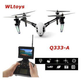 Drone Speed Wltoys Q333-a C/ Tela Fpv 5.8 Ghz 4ch Rc Inspire