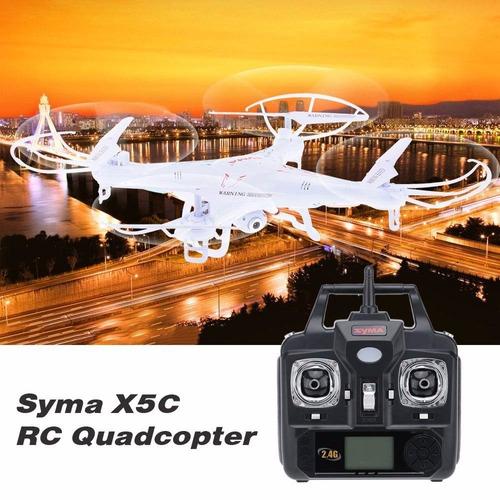 drone syma x5c quadcopter equipado con cámaras de alta