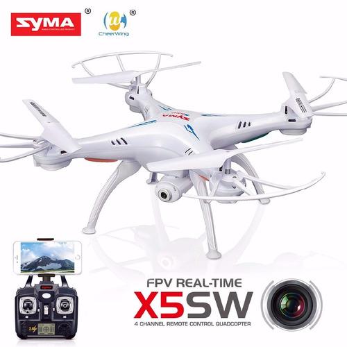 drone syma x5sw camara hd 2 mp video tiempo real wifi