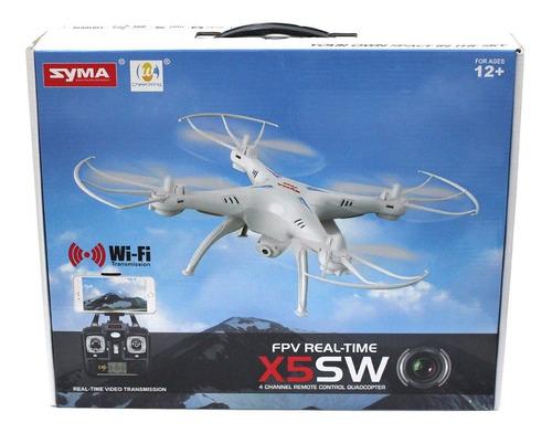 drone syma x5sw cámara wifi monitoreo fpv