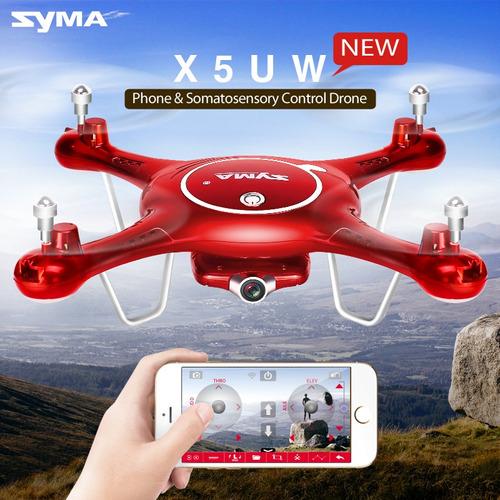 drone syma x5uw nuevo modelo 2018 originales wifi hd garante