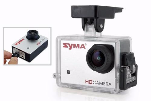 drone syma x8g 180m camara hd 8 mpx estilo gopro axis 360