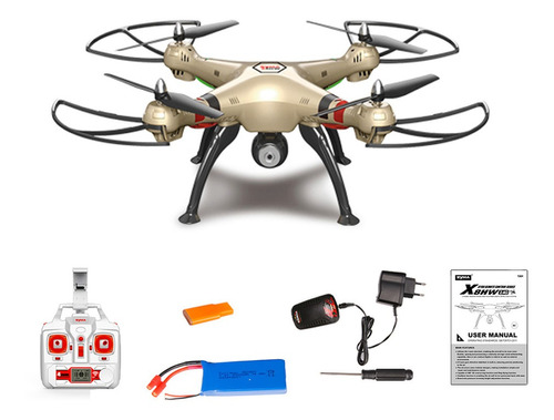 drone syma x8hw cámara 720p fpv 2,4 ghz wifi 70m proglobal