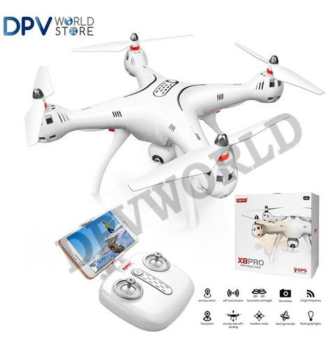 drones camara syma x8 pro gps camara movil 720p wifi profesi
