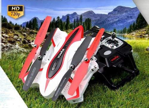 drones syma con camara filma graba vivo lcd drone plegable