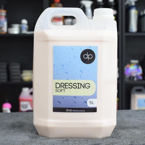 drop detailing dressing soft acondicionador plasticos int
