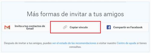 dropbox. servicio de actualización de cuenta gratuita a 18gb