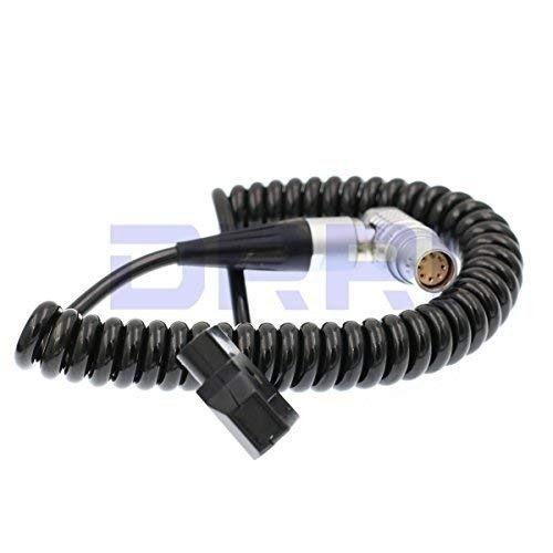 8 pin hembra a cable de alimentación en espiral D-tap para Arri Alexa Mini Cámara