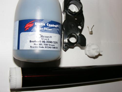 drum+1 toner+kit reset brother tn-410/420/450 static control