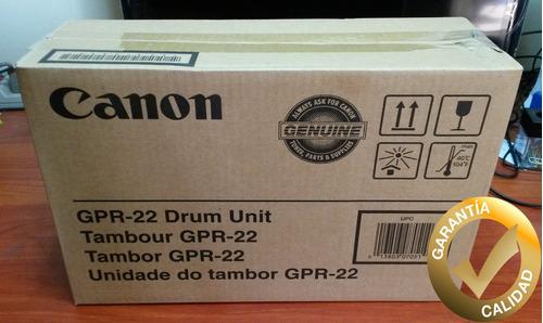 drum tambor canon gpr 22 original
