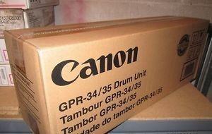 drum tambor gpr 34 / 35 original canon mercado líder