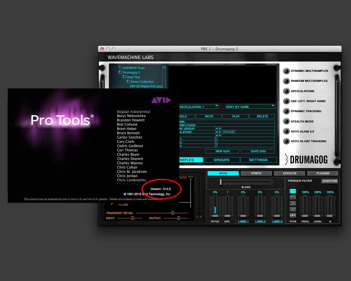 Drumagog 5 Com Biblioteca - Mac - Funciona No Pro Tools 12