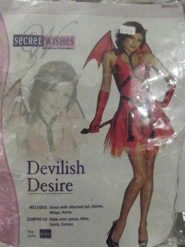 dr.veneno disfraz  de devilish desire talla medium