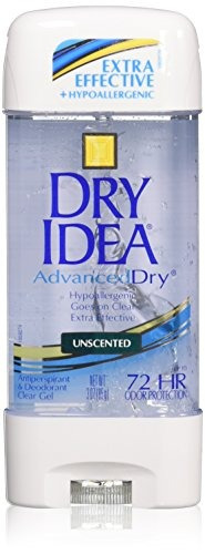 Dry Idea Advanced Dry Unscented Antiperspirant And Deodorant