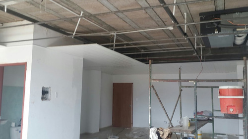 dry wall, pvc, molduras, cielo raso, electricidad.