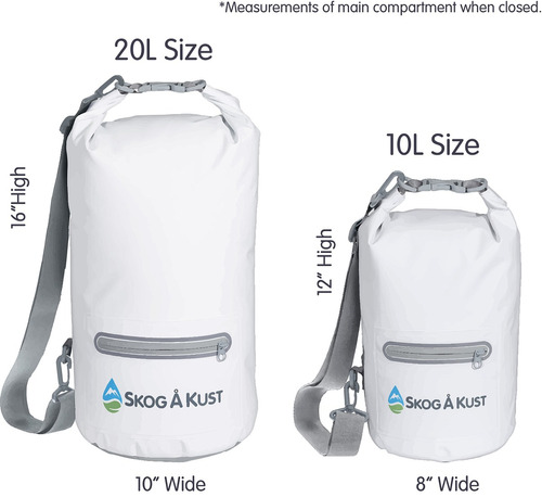 drysak premium bolsa seca impermeable con bolsillo exterior