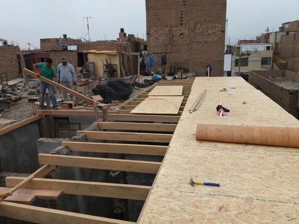 drywall, casas pre fabricadas, estructuras de madera pintura