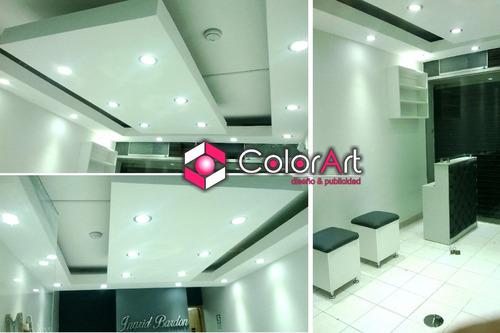 drywall -  cielos rasos - melamine - decoracion