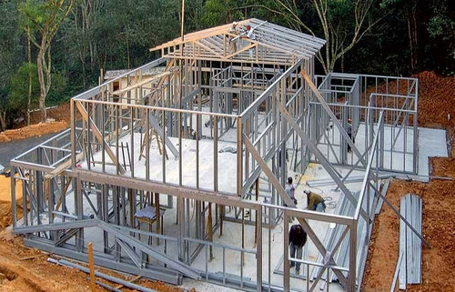 drywall construcción / estructuras / divisiones / paneles.