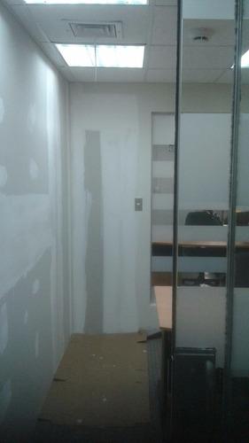 drywall, empastado, pintado, instalac. eléctricas y afine.