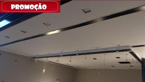 drywall m² instalado/colocado sp com garantia /gesso acarton