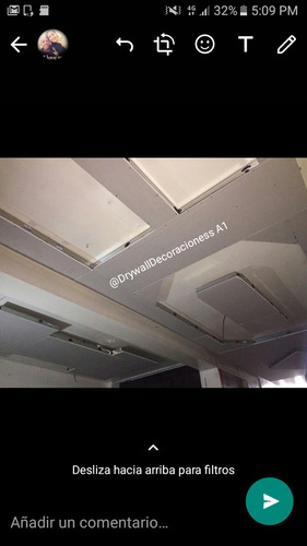drywall metro cuadrado