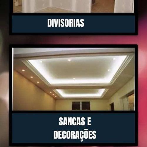 drywall, sancas, forros, sanca e decorações