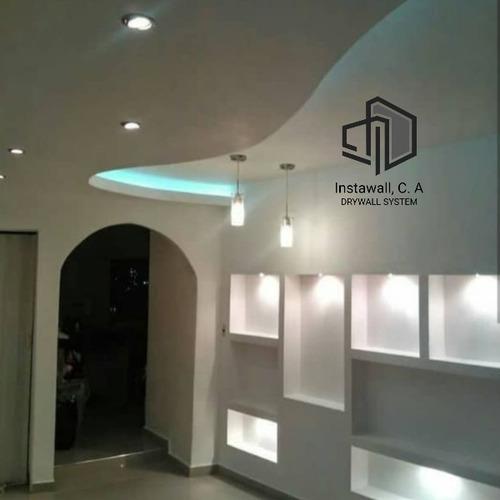 drywall techos tabiques remodelaciones luces pisos pintura
