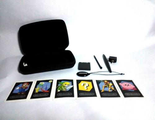 ds 3d xl como nuevo, 2 juegos, full accesorios