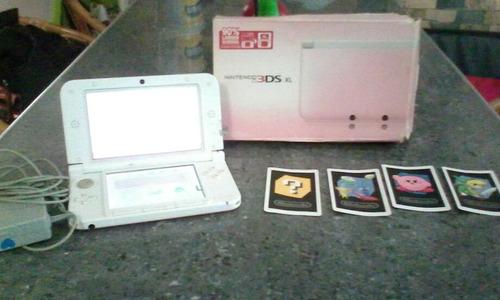 ds 3d xl rosado con 2 juegos de mario r4 memoria de 4 gm
