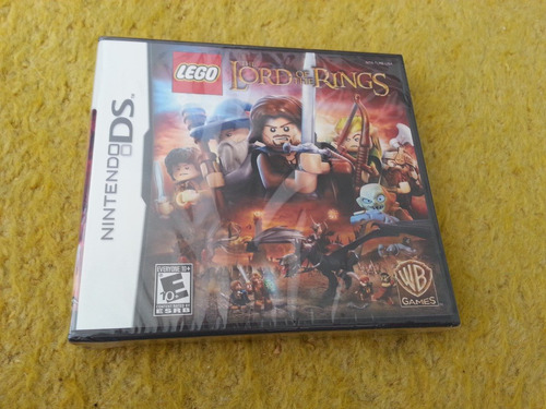 ds  lego the lord of the rings lorde dos aneis nintendo