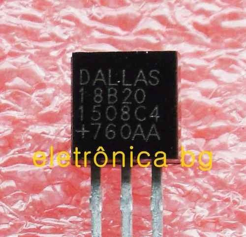 ds18b20 sensor temperatura ds18b20 original dallas kit com 6
