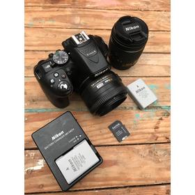 Dslr Nikon D5300 + 18-55mm