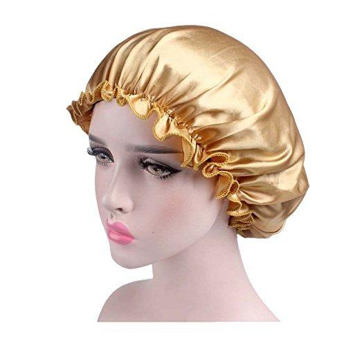 a67c033c7ff Dsoar natural silk sleep night cap head cover bonnet hat jpg 500x500 Night  bonnet