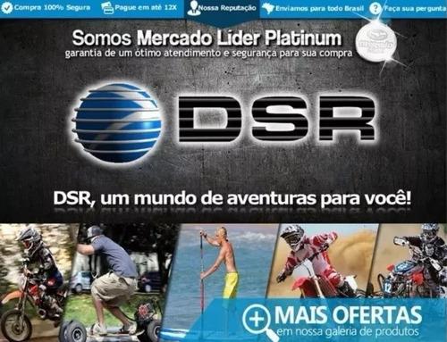 dsr + hoverboard skate elétrico 10 polegadas - c/nota fiscal