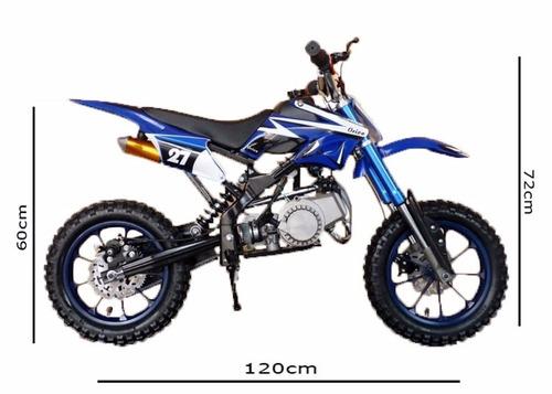 dsr + mini moto cross 49cc - 0km c/ nota fiscal