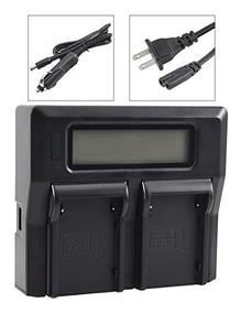 bp-925 Videocámara batería-cargador dual para Canon bp-950g bp-975 bp-955