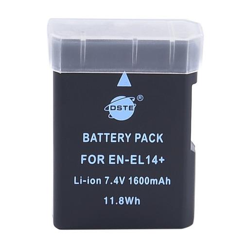 dste 2x en-el14 batería de iones de litio de repuesto para n