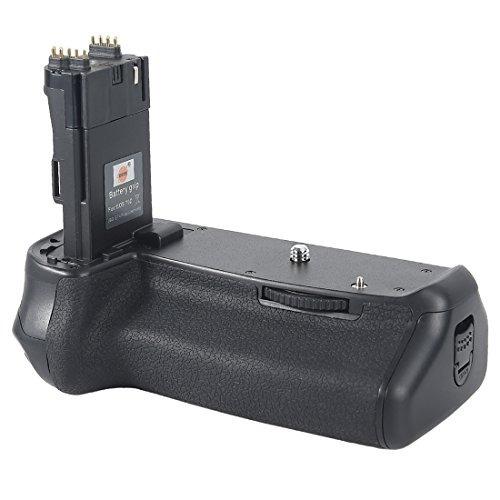 dste pro bg-e14 + 2x lp-e6 lp-e6n para canon