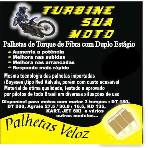 dt 180 - palheta de torque de fibra duplo estagio