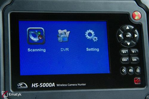 dt-5000a escáner profesional de cámaras inalámbricas